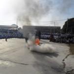 Demonsrasi memadam kebakaran