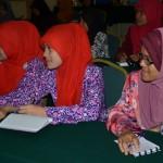 Perserta yang menghadiri kursus
