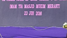 TARIKH : 23 JUN 2016 PENCERAMAH : USTAZ GHAZALI B AWANG ( MANTAN GURU PENDIDIKAN ISLAM SMKSIS) IMAM TUA MUKIM MERANTI TEMPAT : DEWAN BESAR
