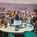 LAWATAN TIMBALAN KETUA SETIAUSAHA (PENGURUSAN ) KEMENTERIAN PENDIDIKAN MALAYSIA KE SMKSIS