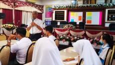 Majlis Penyampaian Sumbangan Biasiswa Alumni SMKSIS Di Bilik Sri Sempana oleh Alumni SMKSIS 16 Julai 2020
